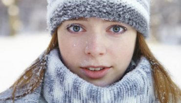 Winter dry skin care