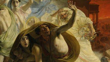 The Last Day of Pompeii by Karl Bryullov