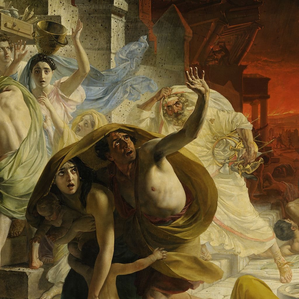 The Last Day of Pompeii by Karl Bryullov
