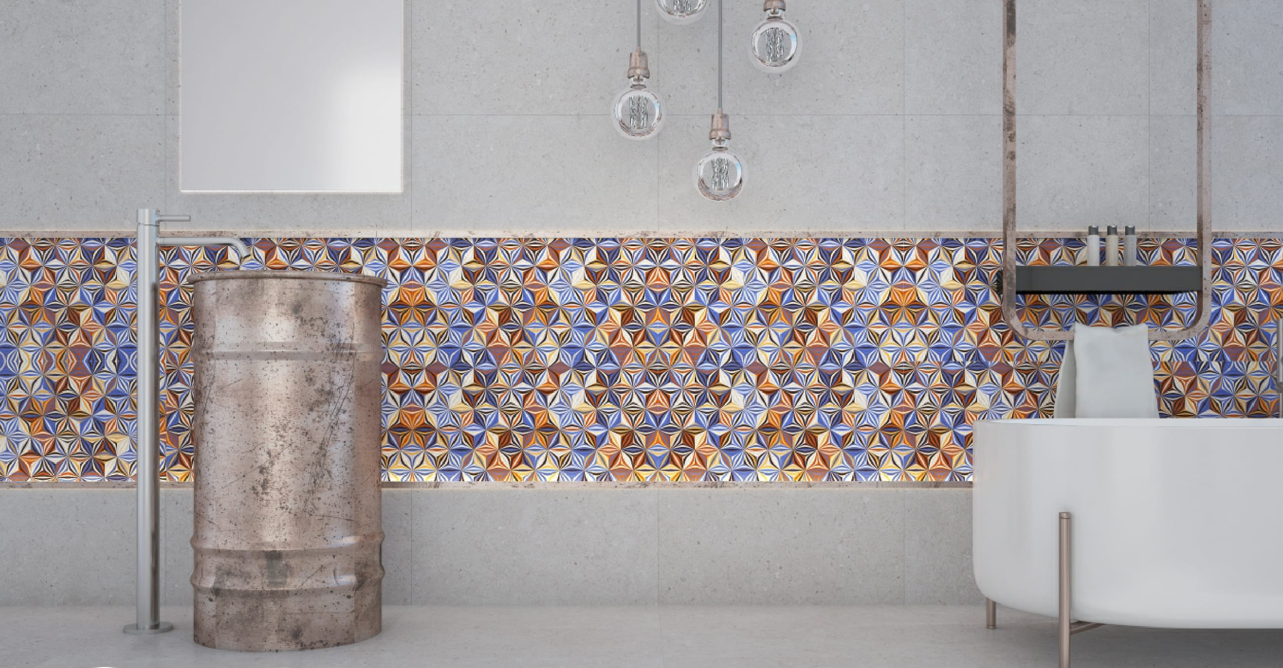 Surefire design ideas to enrich your tiles for your Small Bathroom.