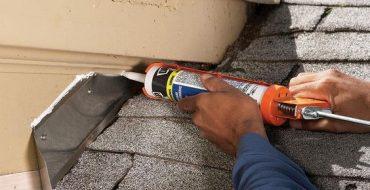 Water leak roofing