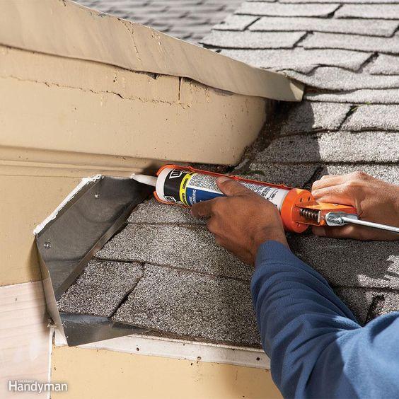 Water leak roofling